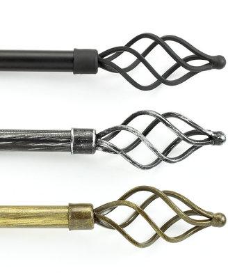 """Wire Twist Drapery Rod, 28""""-48"""""""