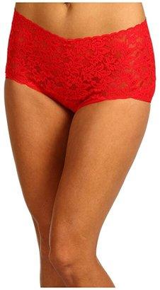 Hanky Panky Signature Lace Retro V-Kini (Black) Women's Underwear