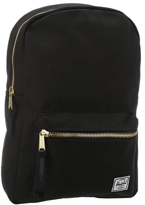 Herschel Settlement Mid-Volume Canvas (Black) - Bags and Luggage