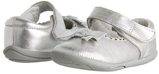 pediped Betty Grip 'n' Go (Toddler) (Silver) Girls Shoes
