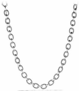 David Yurman Oval Large Link Necklace