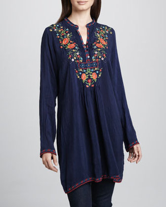 Johnny Was Collection Katelyn Long Tunic