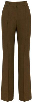 Petar Petrov Hadwin Brown Straight-leg Trousers