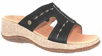 ACORN Women's Vista Slide Wedge Sandal $48.58 thestylecure.com