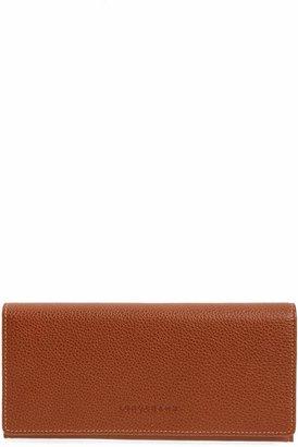 Longchamp 'Veau' Continental Wallet