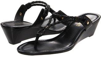 Lauren Ralph Lauren Lacey (Black Kidskin) - Footwear