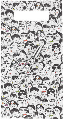 Lanvin Faces-print ballpoint pen