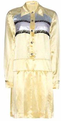 Miu Miu Satin and lace dress