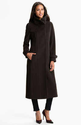 Rainforest Long Wool & Cashmere Coat