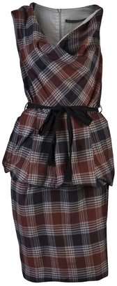 Bolongaro Trevor TALA CHECKERED DRESS