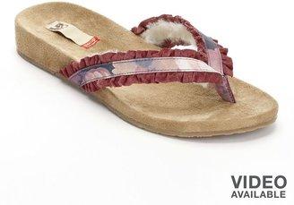 Lamo floral flip-flops - women
