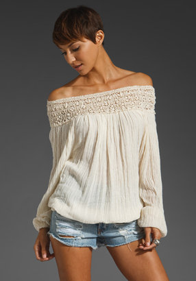 Jens Pirate Booty Paradise Cove Off Shoulder Top