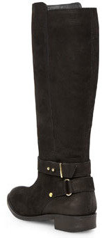 Dorothy Perkins Black leather riding boot