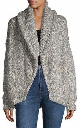 Line Alexandra Wool Cardigan Sweater