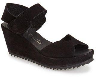 Women's Pedro Garcia 'Fama' Wedge Sandal $495 thestylecure.com