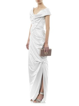 Vivienne Westwood Double satin full length draped gown