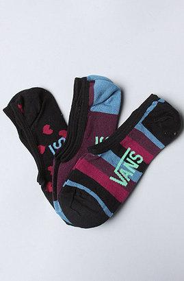 Vans The Checkered Heart 3 Pair Sock Pack