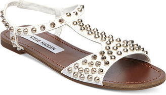 Steve Madden Women's Nickiee Flat Sandals