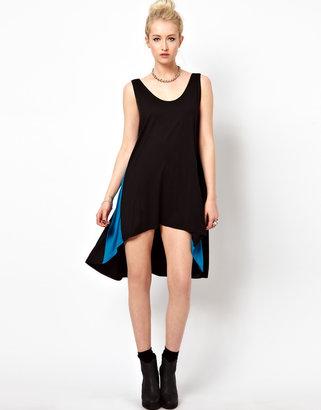 Kill City Mini Dress With Contrast Side Panel