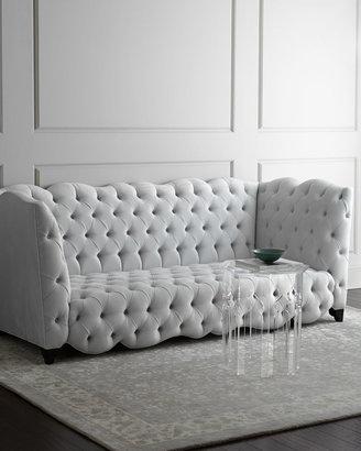 """Haute House Arabella Tufted Sofa 92"""""""