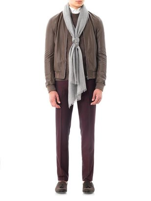 Zegna Silk and cashmere scarf