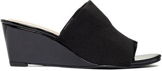 Ellen Tracy Shoes, Leeza Wedge Sandals