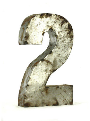 Zentique Metal Number 2 Small