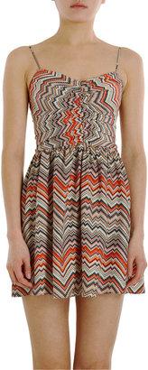 Parker Digital Zig-Zag Dress