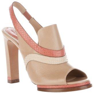 Chloé sling back sandal
