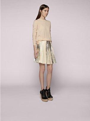 Proenza Schouler Pleated Short Skirt