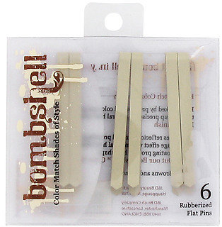 Bombshell Blonde Collection Rubberized Flat Pins