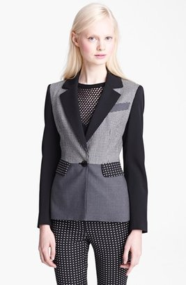 Moschino Cheap & Chic Patchwork Crepe Jacket