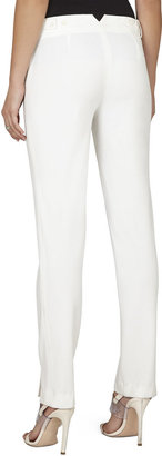 BCBGMAXAZRIA Kurra Slim-Leg Ankle Trouser