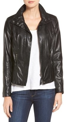 Women's Kut From The Kloth 'Elena' Faux Leather Motocross Jacket $108 thestylecure.com