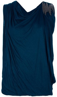 Yigal Azrouel Cut 25 By Bead embellished top