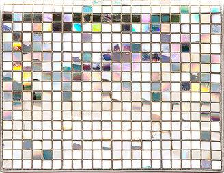 Maison Martin Margiela Silver CD Mosaic Clutch