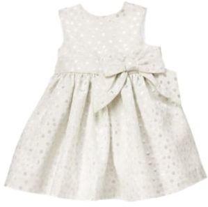 Crazy 8 Sparkle Dot Brocade Dress