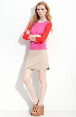 Juicy Couture Colorblock Snap Accent Dress