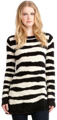 Rachel Roy The Zebra Striped Pullover