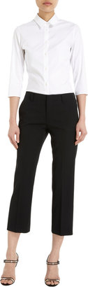 Jil Sander Straight Cropped Trousers