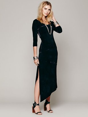 Free People Crossroads Midi Dress