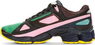 Raf Simons Green Mesh Adidas Edition ozweego Sneakers