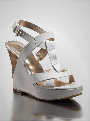 GUESS Yakima Wedge Sandals