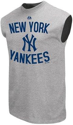 New York Yankees Majestic authentic edge sleeveless tee - men