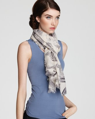 Lola Rose Feather Heart Scarf