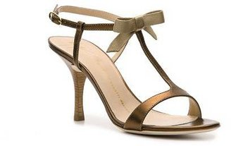 Giuseppe Zanotti Metallic Leather Bow Sandal