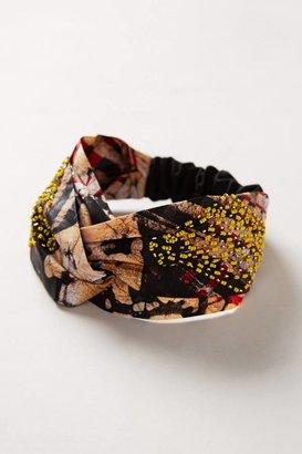 Anthropologie Gahaya Links Sun Catcher Turban Headband