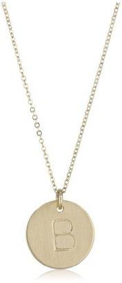"Nashelle Identity"" Initial 'B' Charm Necklace"