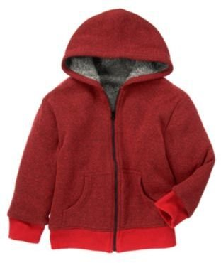 Crazy 8 Sherpa Lined Heathered Hoodie