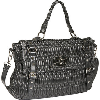 Mellow World Alberta Top Handle Pleated Tote